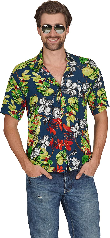 Andrea-Moden 62/64 - Camisa Hawaiana para Disfraz: Amazon.es: Ropa y accesorios