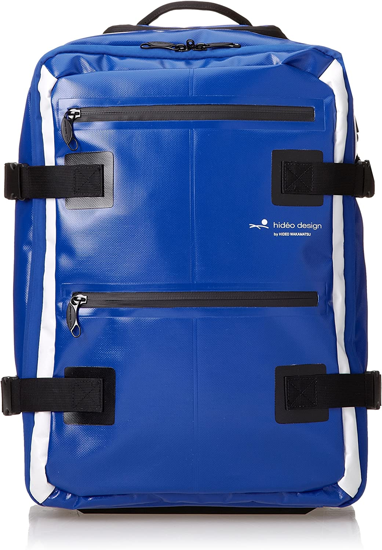 Hideo Wakamatsu Tarpaulin Hybrid Backpack Trolley Suitcase Blue Amazon Co Uk Luggage