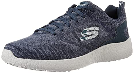 Skechers Burst Deal Closer - Zapatillas Deportivas para Hombre, Color Azul, Talla 48,5 EU: Amazon.es: Zapatos y complementos