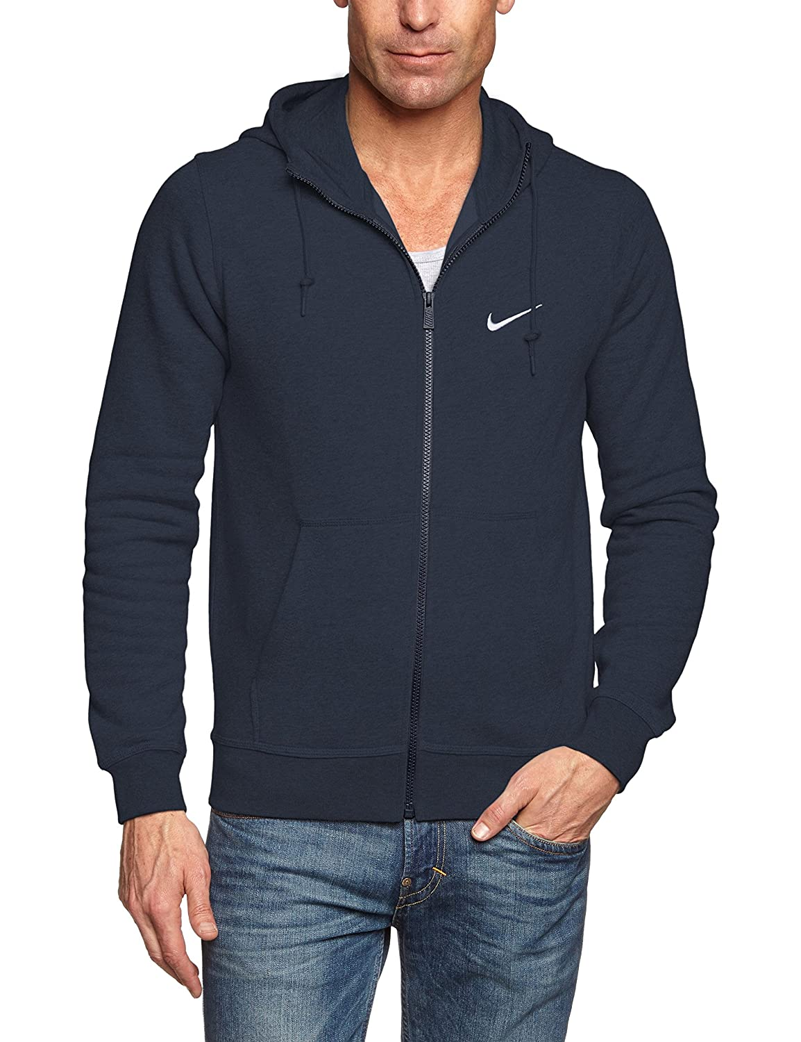 Nike Club FZ Men's Jacket Hooded Swoosh
