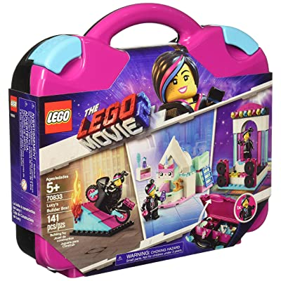 Lucy's Builder The Lego Movie 2 Box Set New Kids Children Toy Game: Toys & Games