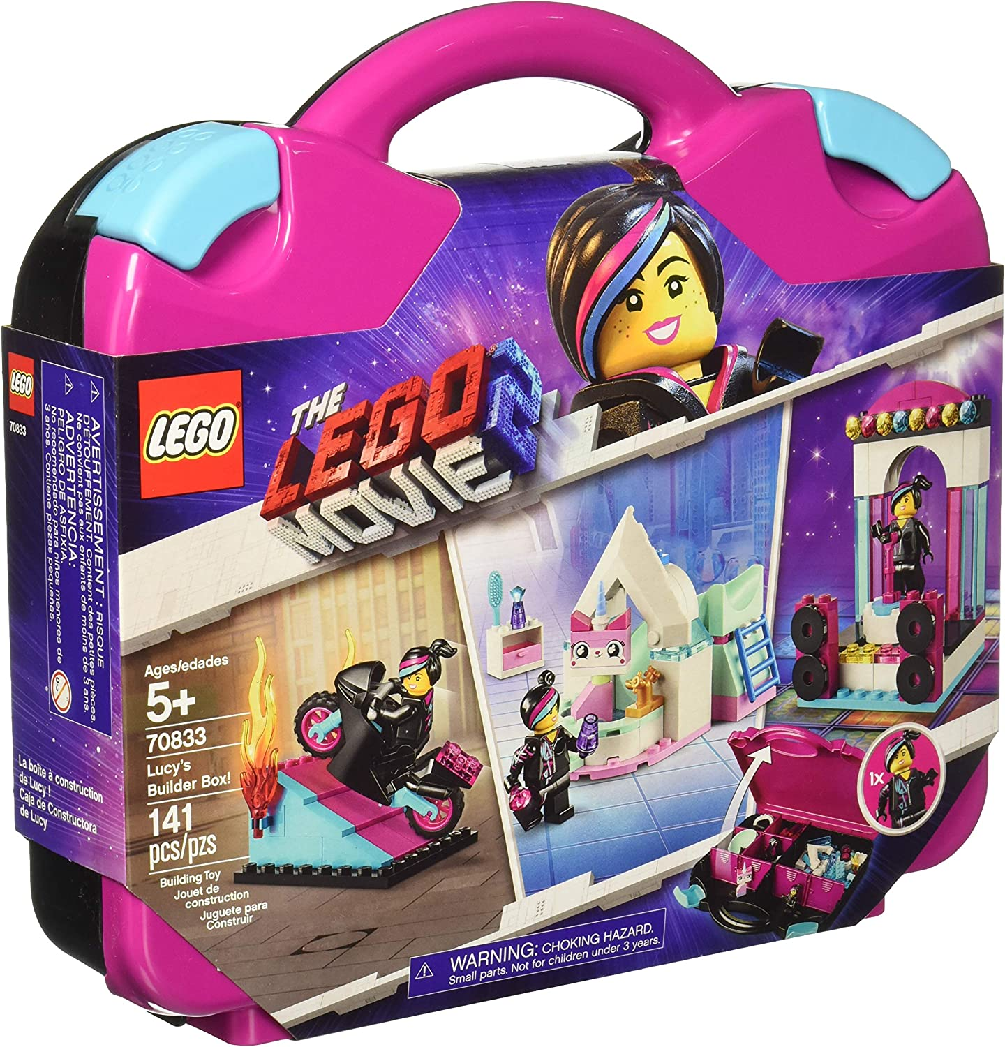 Lucy's Builder The Lego Movie 2 Box Set New Kids Children Toy Game