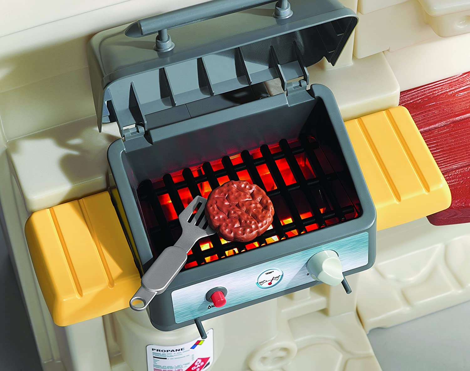 little tikes cookn u0027 grill kitchen amazon co uk toys u0026 games
