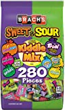 Brach's Sweet & Sour Kiddie Mix Variety Pack Individually Wrapped Candies, 280 CT Candy Bag, 67.60 Ounce (Pack of 1)