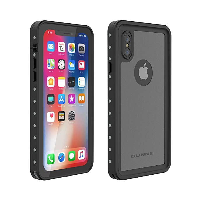 free shipping 1ebe1 d1c48 OUNNE iPhone Xs/iPhone X Waterproof Case, Underwater Full Sealed Cover  Shockproof Dirtproof Snowproof IP68 Certified Waterproof Case with Built-in  ...