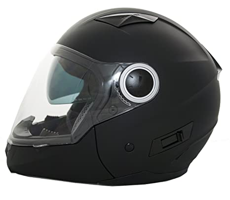 Casco Moto Convertible (Integral/Abierto) LEM - Multi , COLOR BRILLO ó MATE