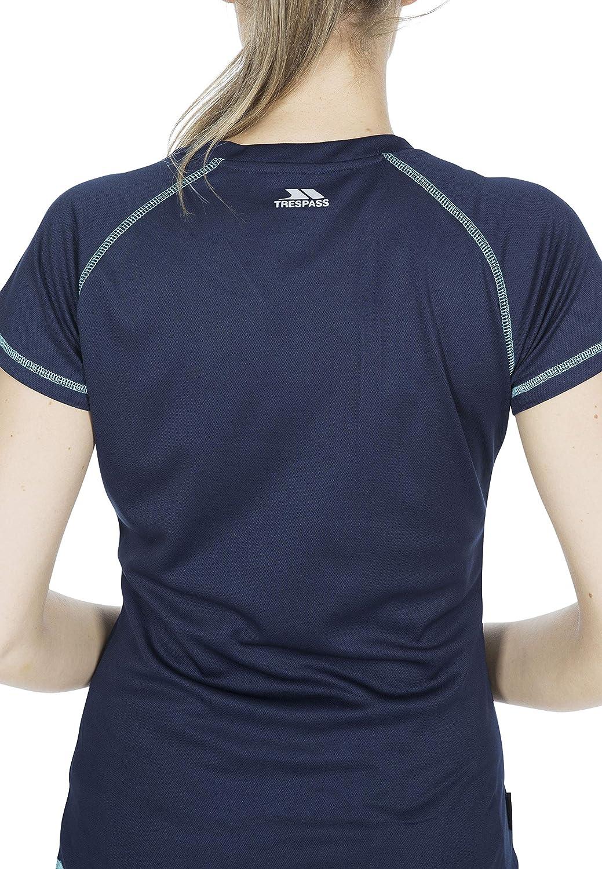 Trespass Viktoria T-Shirt /à s/échage Rapide pour Femme