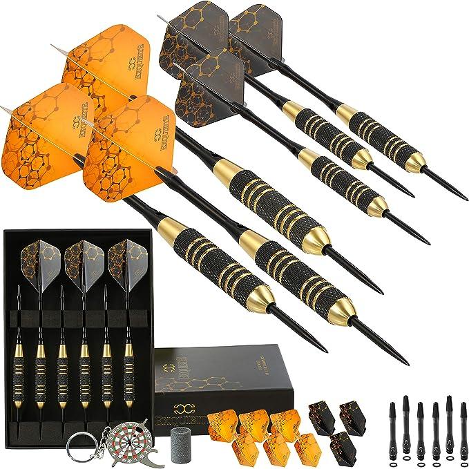 60Pcs 20 Sets Professional Durable PET Dart Flights Dart Tail Darts Accesso KQ