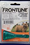 Frontline Plus for Small Dogs 0-22 lbs (0-10 kg), New & Fresh, 1 Month Supply, 1 Applicator (Small, Orange)