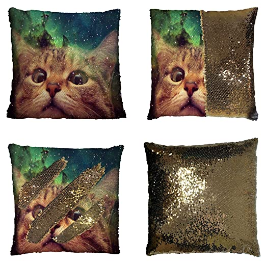 Sequin-pillowcases-WWW Funda de cojín de Lentejuelas ...