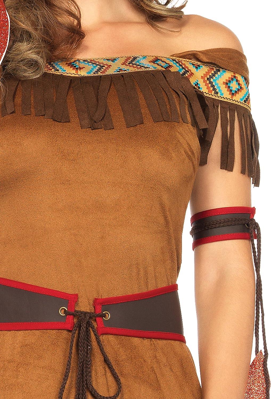 Native Princess Damen kost/üm EUR 36-38 Gr/ö/ße S//M LEG AVENUE 85398 Karneval Fasching