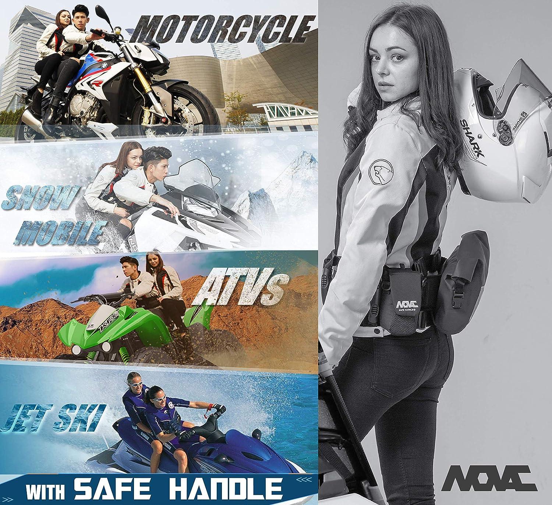 Motocyclette Motocyclette Jetski Novac Poign/ée de pr/éhension pouvant /être port/ée comme Ceinture r/énale pour VTT Superbike Motoneige V/élo