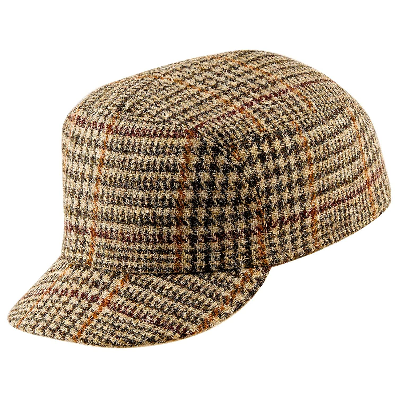 Sterkowski Hudson Danish Earflap Cap Harris Tweed