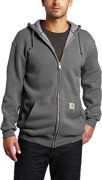 Carhartt Midweight Hooded Zip Front Sweatshirt Camicia Uomo
