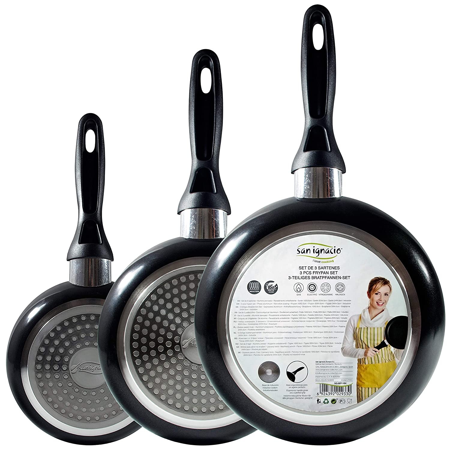 Amazon.com: San Ignacio Q2012 – Set of Frying Pans ...