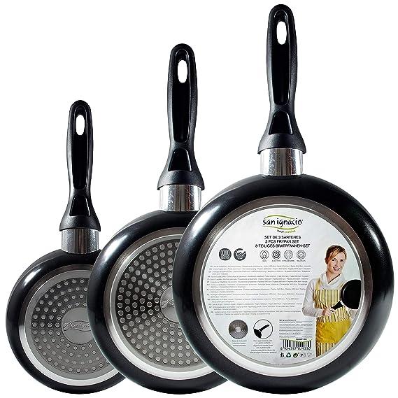 Amazon.com: San Ignacio Q2012 – Set of Frying Pans ...