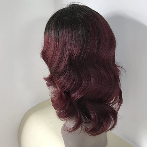Buy 8 1b99j Full Shine 8 Lace Front Bob Wig 7a