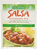 Concord Foods Mild Salsa Mix, 1.06-Ounce Pouches (VALUE Pack of 18 Pounces)