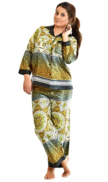ee955f953c Up2date Fashion Womens Full Sleeves Pajama Sets