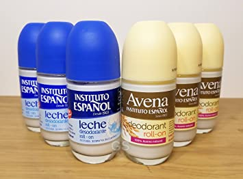 Instituto Espanol Deodorant Avena & Leche Roll On Combo (6 Pack).. 080585090197