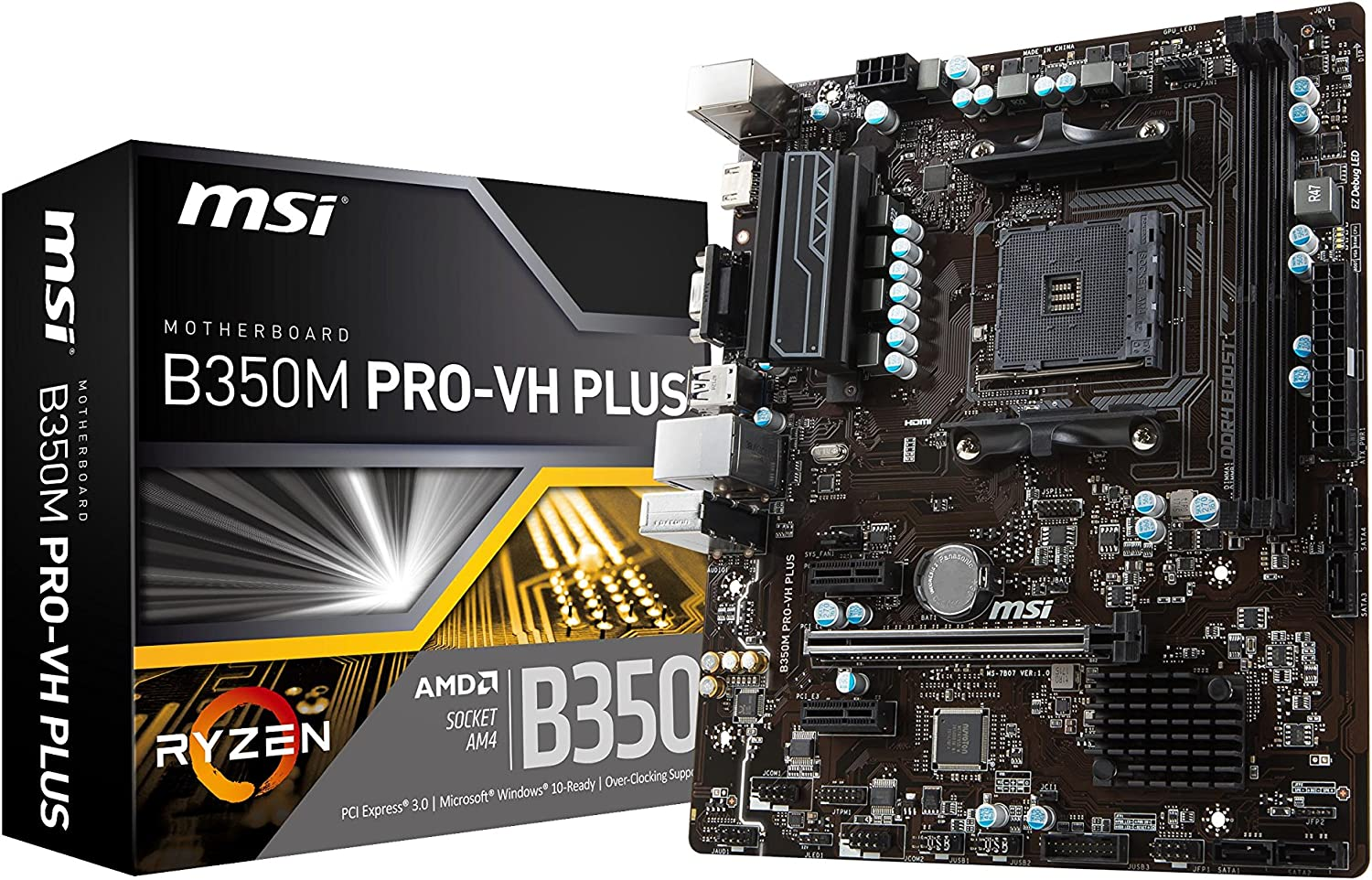 MSI B350M-PRO-VH-PLUS Motherboards