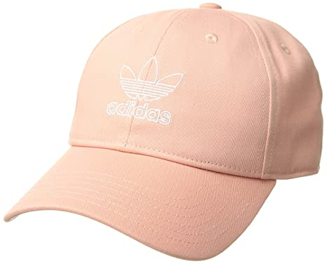 Image Unavailable. Image not available for. Color  adidas Women s Originals  Outline Logo Relaxed Adjustable Cap ... e1686de7150