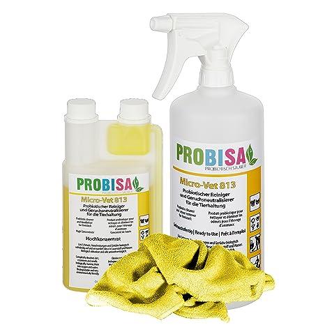 Neutralizadores de olor spray (Probisa Micro-Vet 813) de la orina del gato, ...