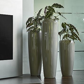 Moderne & Hochwertige Pflanzvase / Pflanzkübel – Groß: 120cm ...