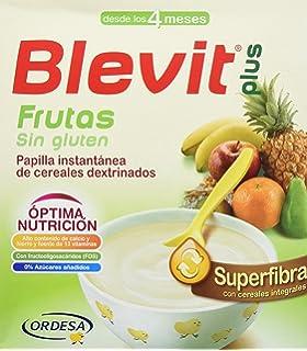Blevit Plus Superfibra Frutas Cereales - Paquete de 2 x 300 gr - Total: 600