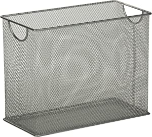 Honey-Can-Do OFC-03303 Table-top Hanging File Organizer, 5.5 x 12.5 x 9.8, Silver