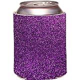 Rikki Knight Purple Glitter Design (not actual glitter) Design Drinks Cooler Neoprene Beverage Insulators Huggers