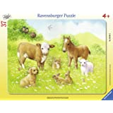Ravensburger In The Pasture Frame Puzzle (37-Piece)