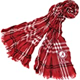 NCAA Crinkle Scarf Plaid