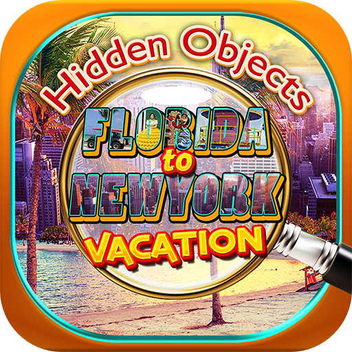 Hidden Objects - Florida to New York Vacation & Object Time Seek Find Quest