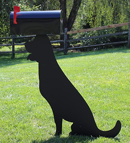 Mounting Hardware Included Fox Metal Mailbox Topper Sign