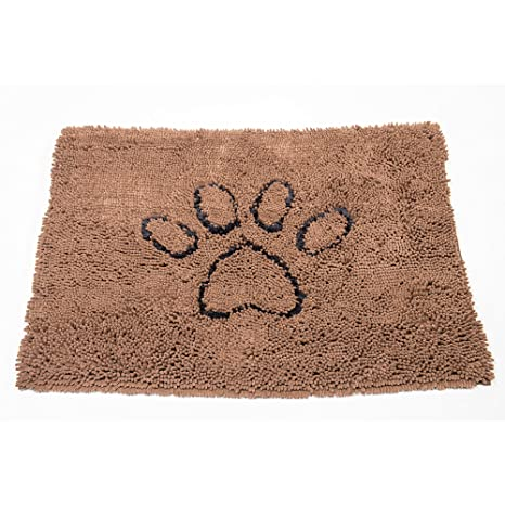 Superbe Dog Gone Smart Dirty Dog Doormat, Large, Brown