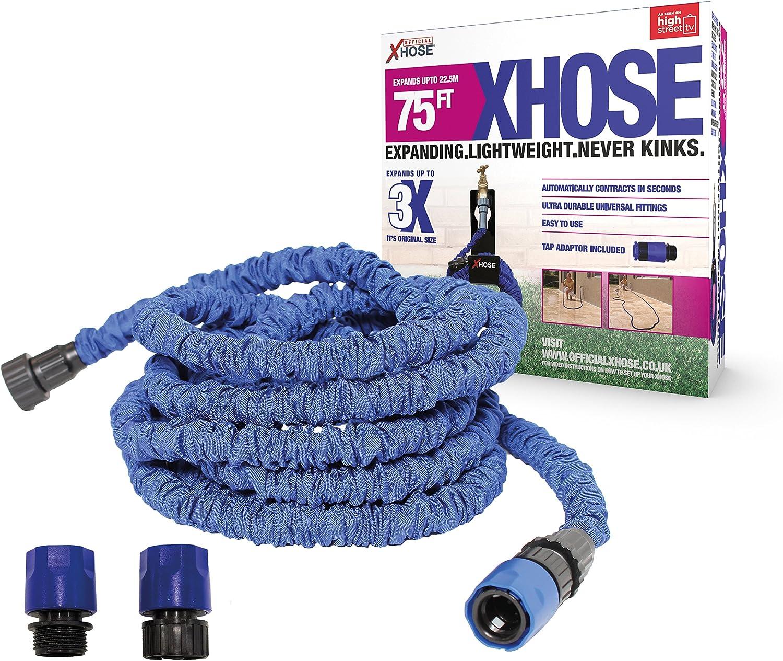 X-Hose XHose Gartenschlauch mit zus/ätzlichem Adapter