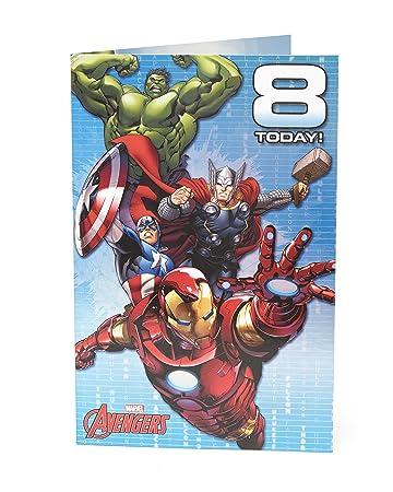 Amazon.com: Marvel Avengers - Tarjeta de felicitación de ...
