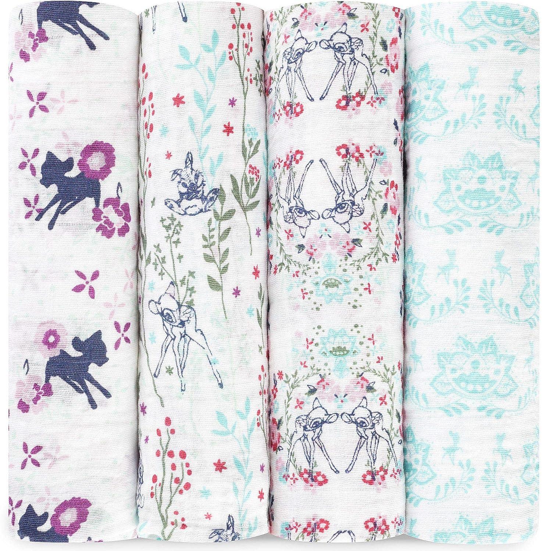 Aden colour pop Anais 7239g langes musy pack de 3 70cm x 70cm 100/% mousseline de coton