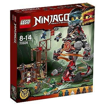 lego 70626 ninjago jeu de construction lattaque de la prison - Jeux De Lego Ninjago Spinjitzu