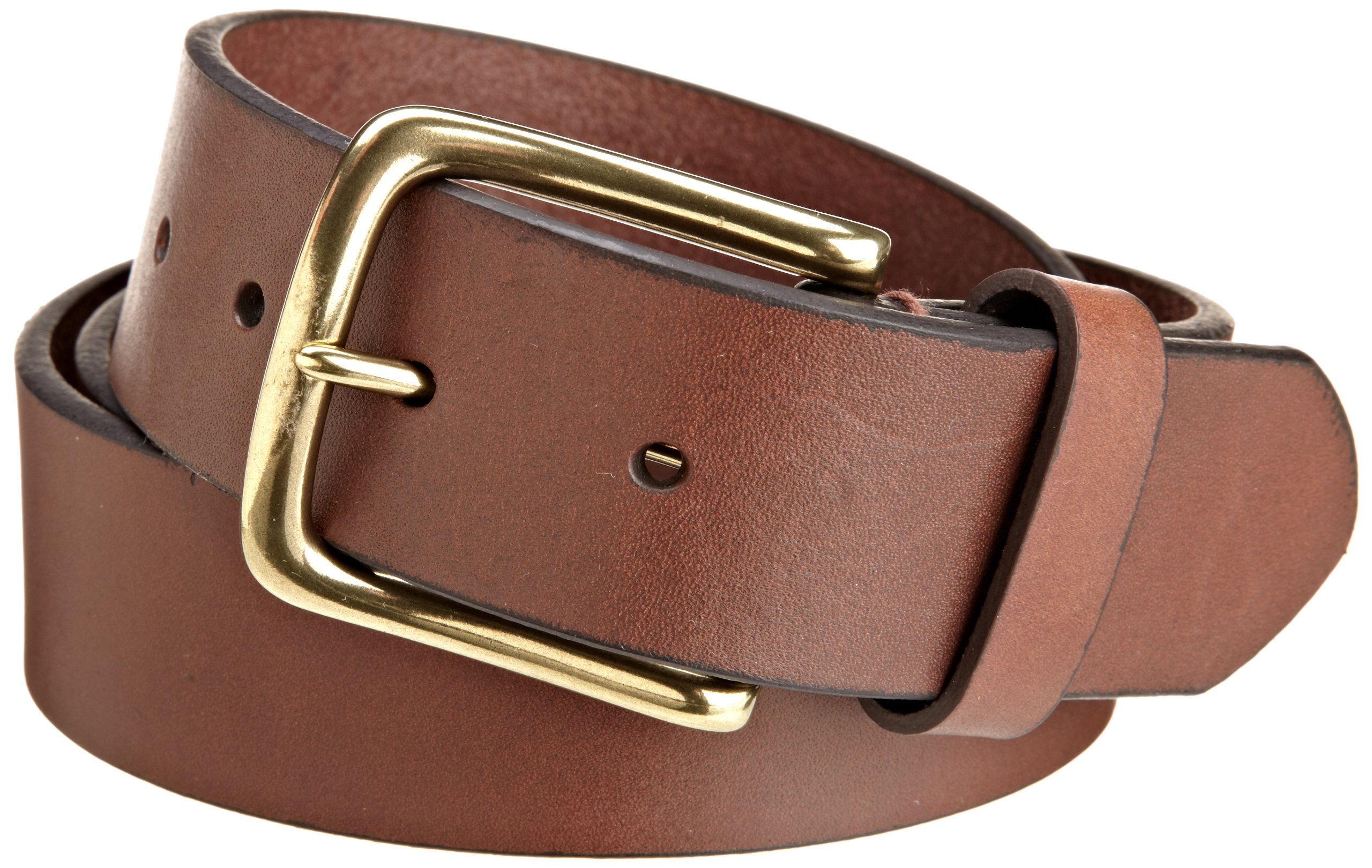 Tommy Hilfiger Men's Casual Belt, Brown, 42