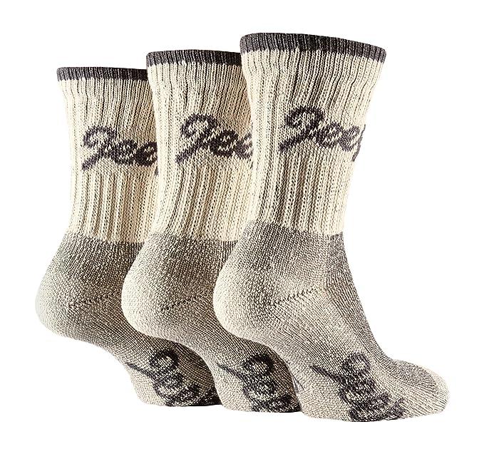 Jeep Terrain - 3 pares calcetines senderismo mujer trabajo invierno para botas tamaño 37-42