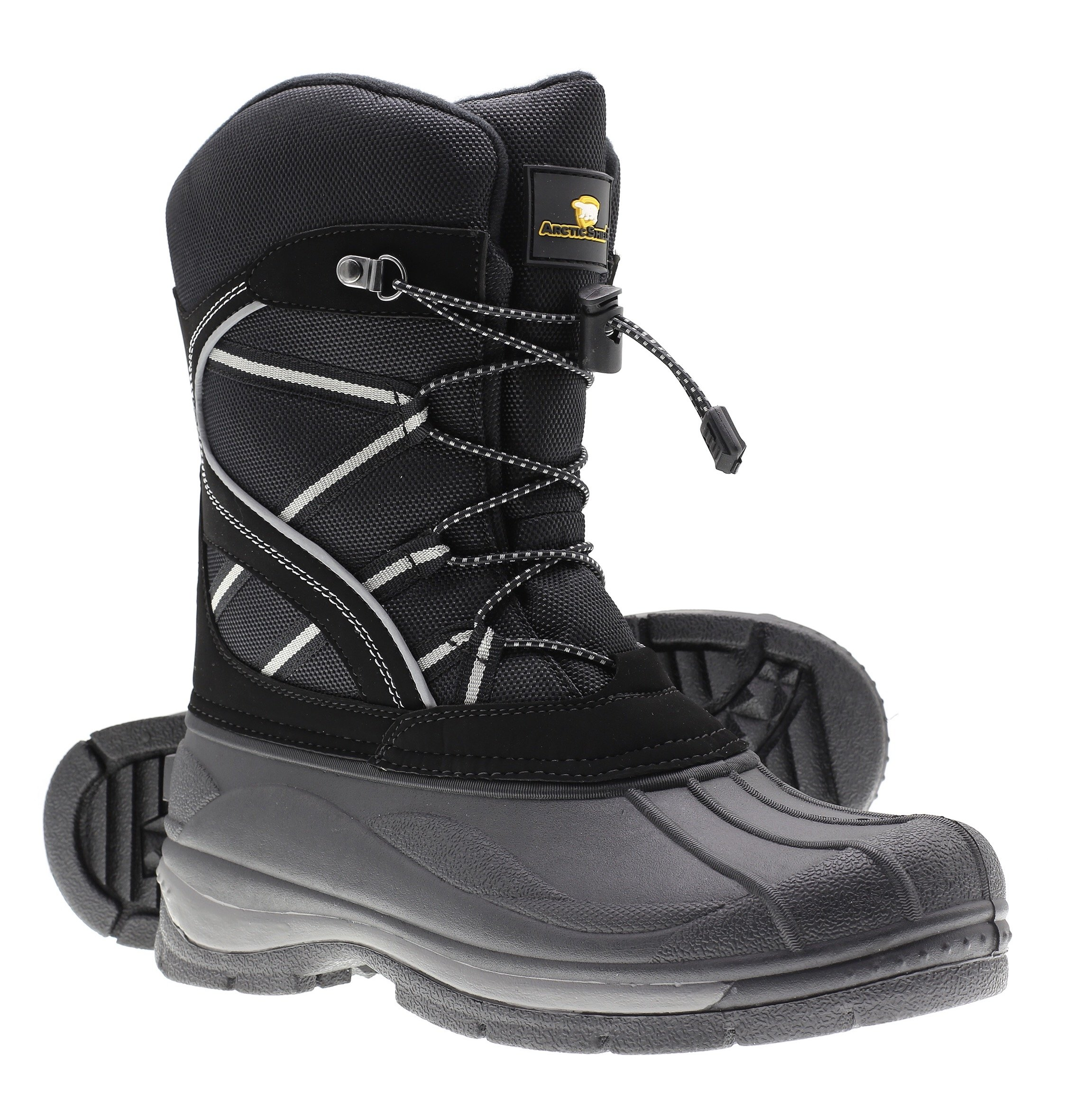Arctic Shield Mens Warm Comfortable Waterproof Durable Outdoor Winter Snow Boots (9) by ArcticShield