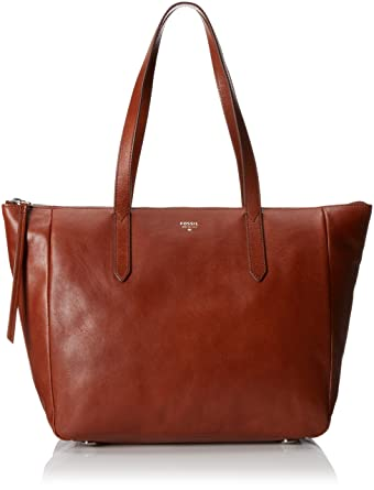 Fossil Sydney Shopper Bag, Brown, One Size