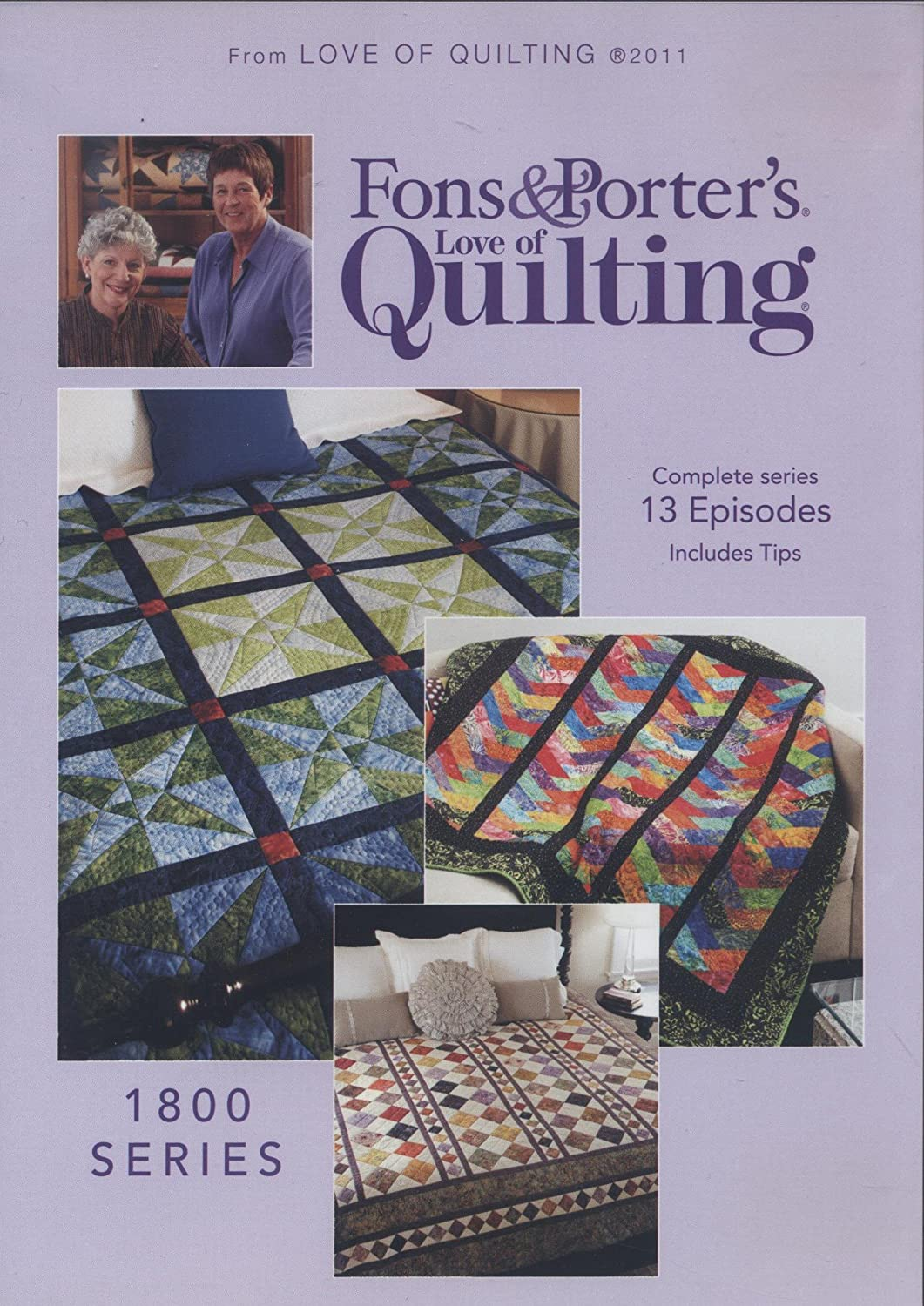 Amazon Fons Porters Love Of Quilting 1800 Series New Dvd