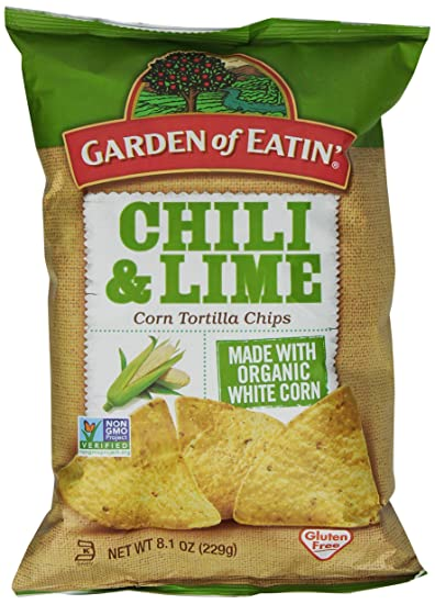 Amazoncom Garden of Eatin Tortilla Chips Chili Lime 81 Oz