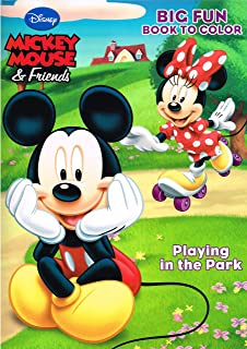 Amazon.com: Disney® Mickey Mouse Christmas Coloring Book Set (2 ...