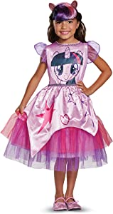 Twilight Sparkle Movie Classic Costume, Purple, Small (4-6X)