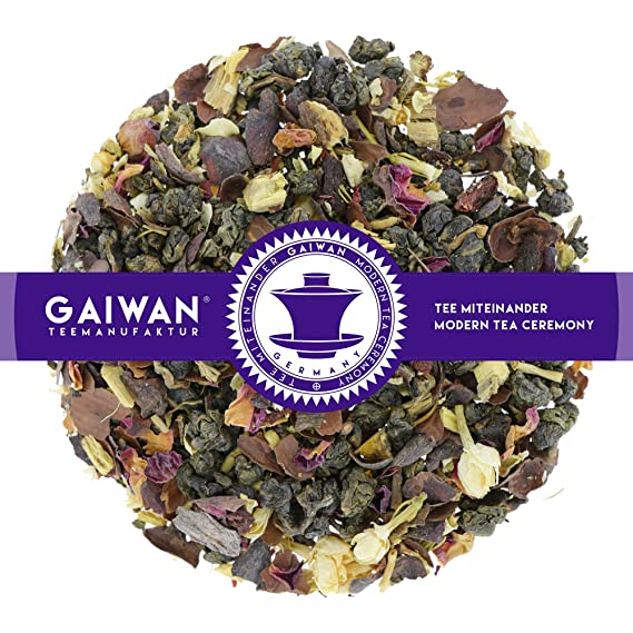 N 1307 The Vert Baie De Goji Feuilles De The 100 G Gaiwan