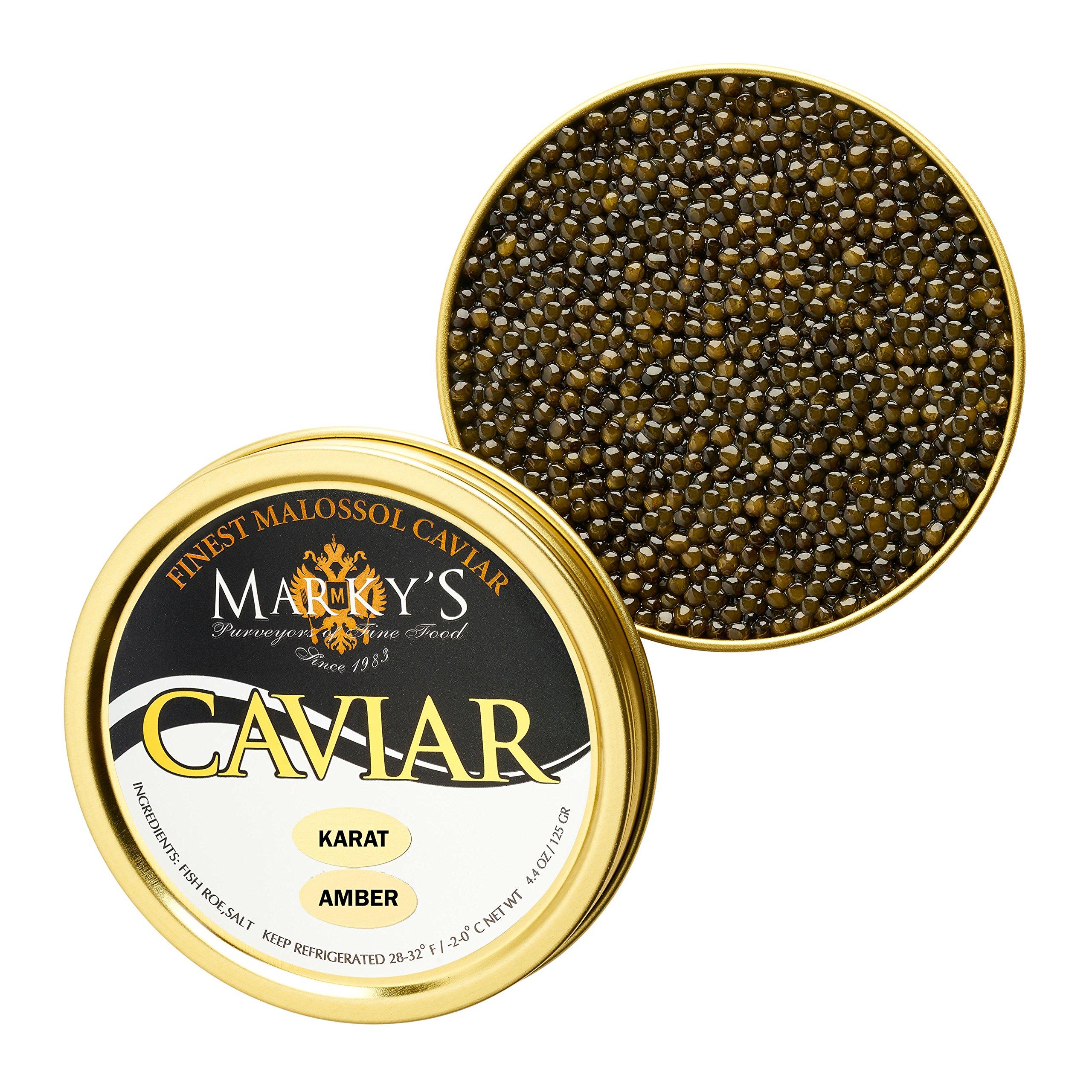 Russian Osetra Karat Caviar Amber - 2 oz by Marky's Caviar